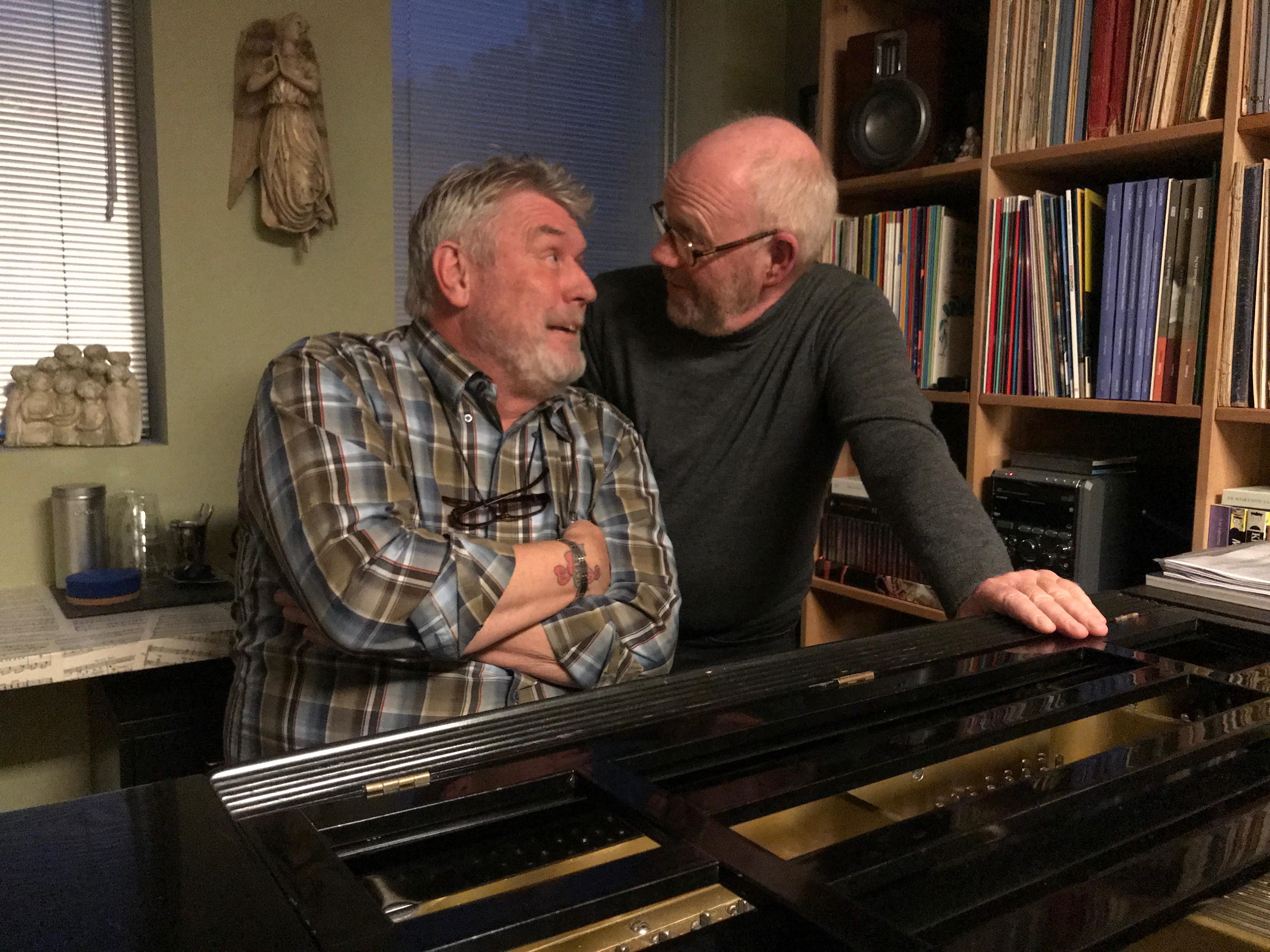 Zanger Wieger Boer en pianist Hans Weenink ondernemen in Het Pakhuis een zoektocht naar de liefde. (Foto: aangeleverd)