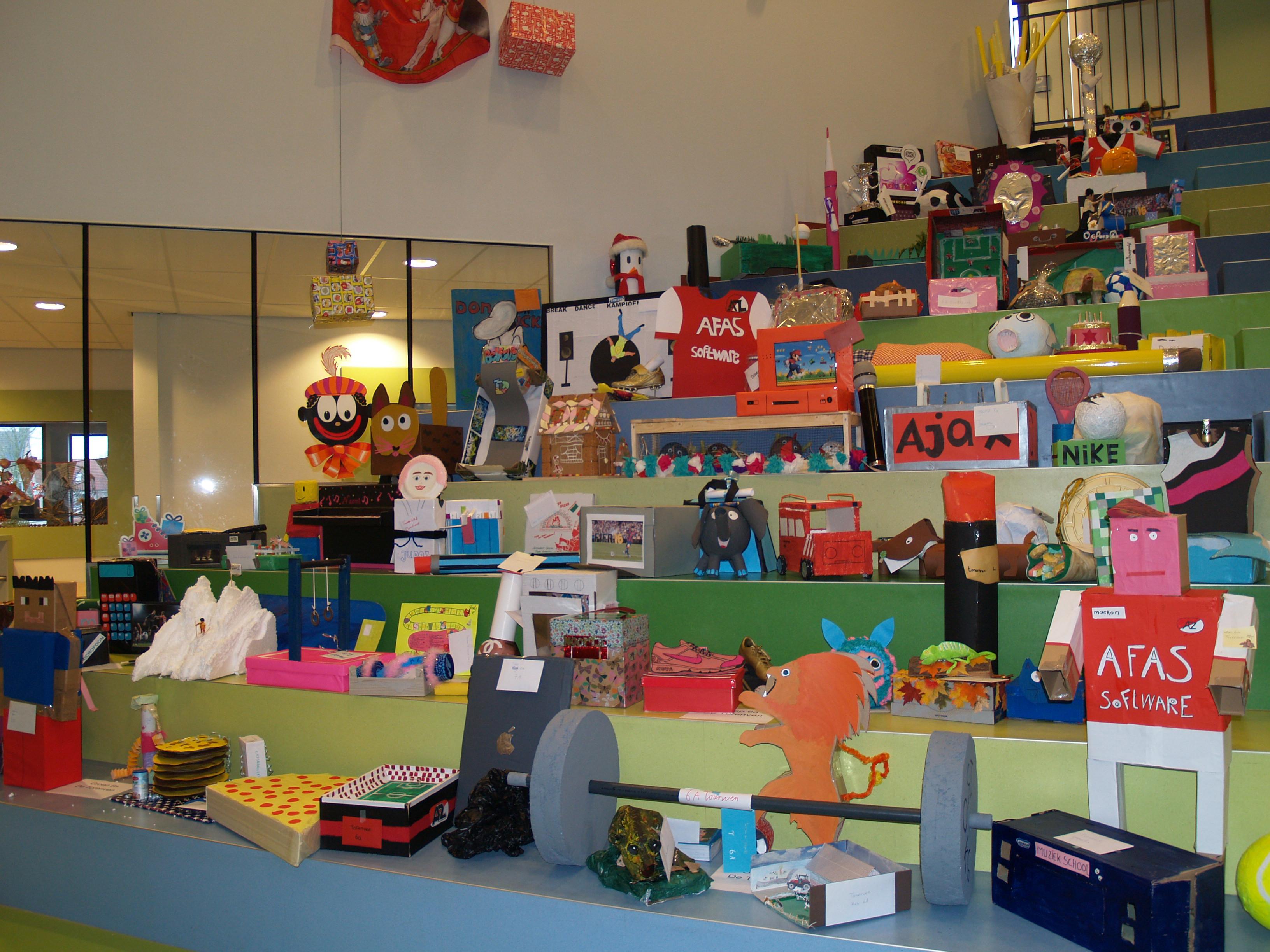 Meer dan genoeg surprises op Kindcentrum De Hoge Ven. (Foto: aangeleverd)