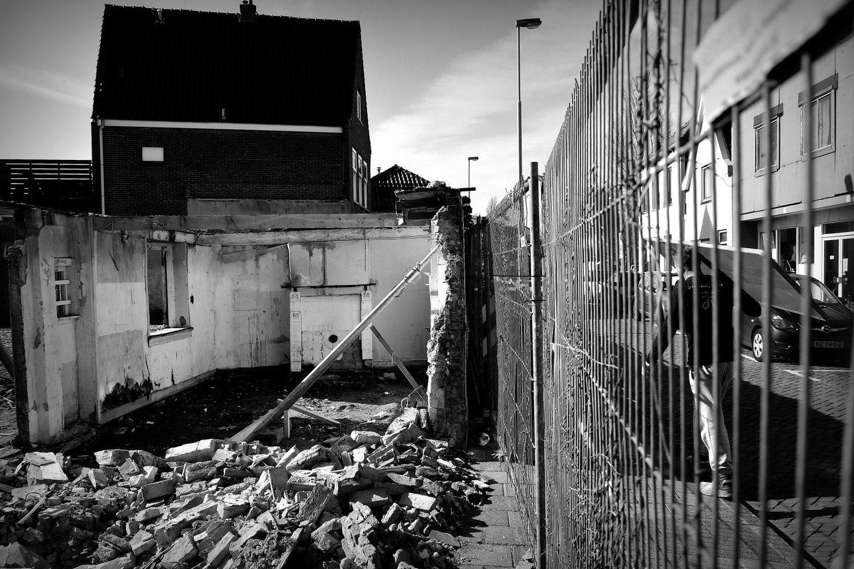 Het oudste woonhuis van de stad is er niet meer. (FOTO: AANGELEVERD)