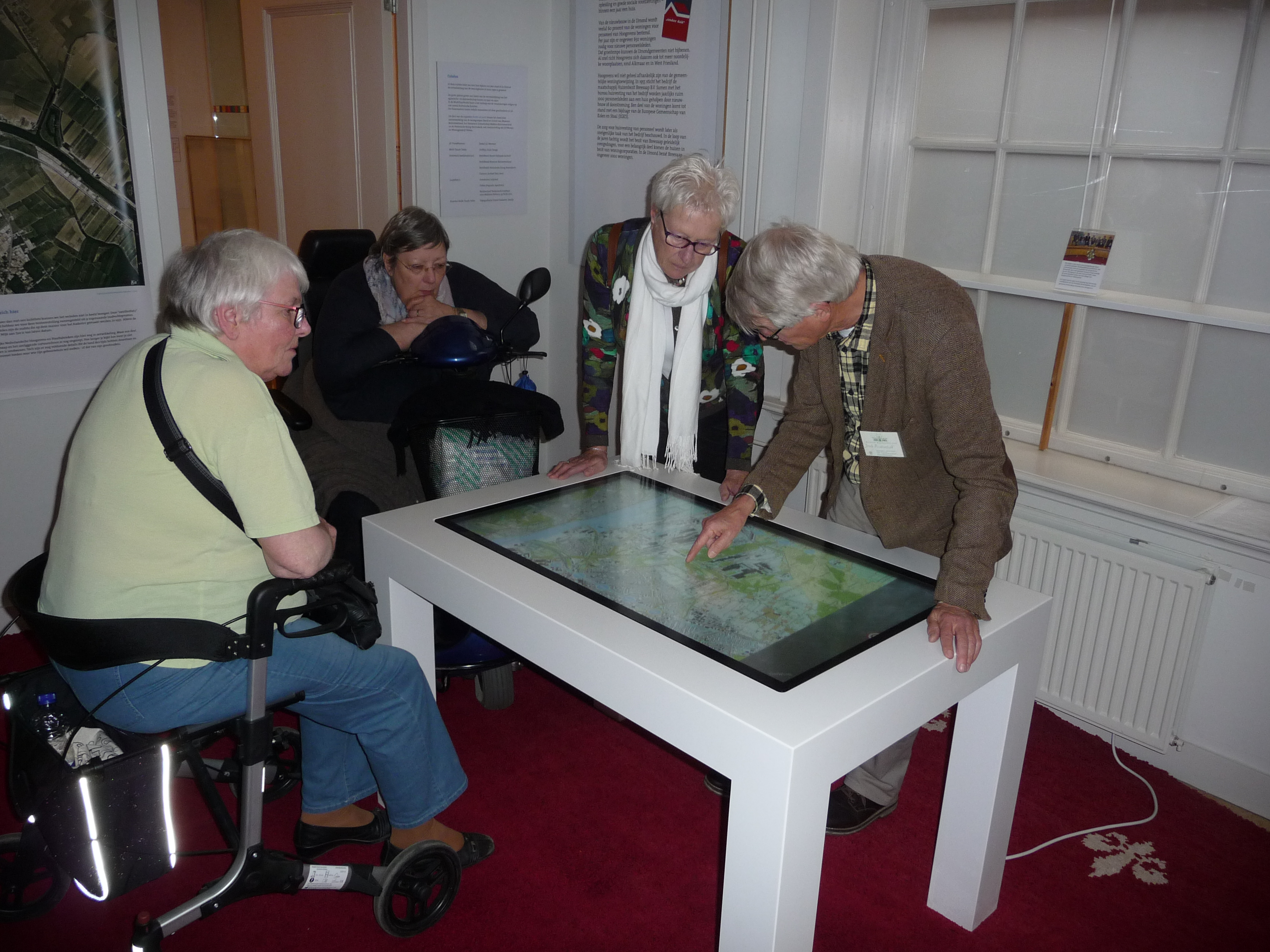 Met de Zonnebloem naar Museum Kennemerland
