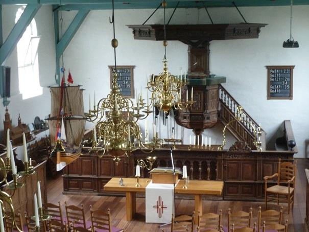 De Nieuwe Kerk is woensdag 19 en maandagavond 24 december alvast in kerstsferen. (Foto: Nieuwe Kerk)