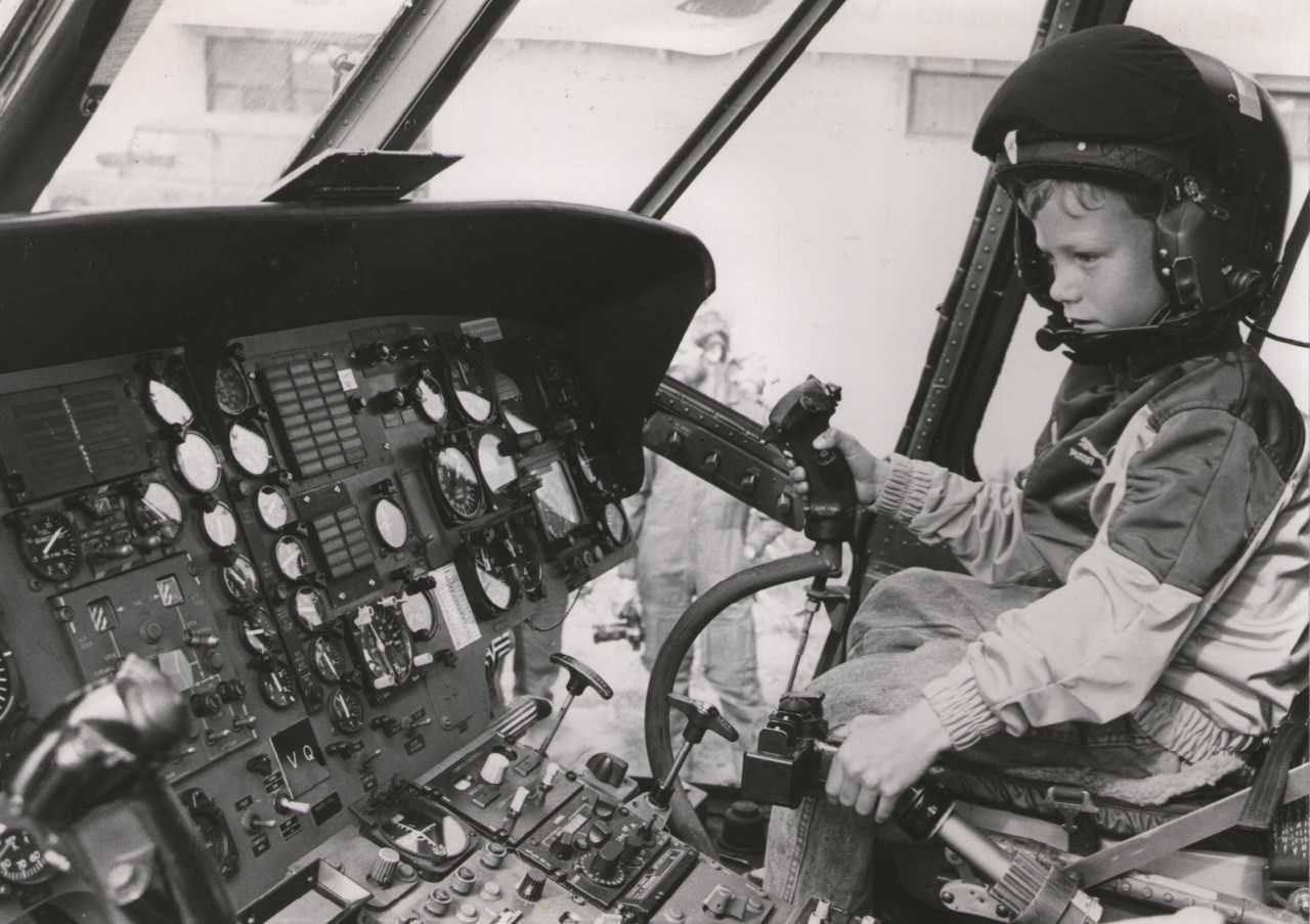 Piloot worden was altijd al een jongensdroom. (Foto: aangeleverd)