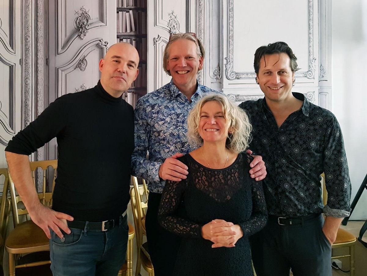 Het tweede concert in de serie 'Kaarslichtconcerten' van Kunstgetij in de Witte Kerk in Heiloo. (Foto: aangeleverd).