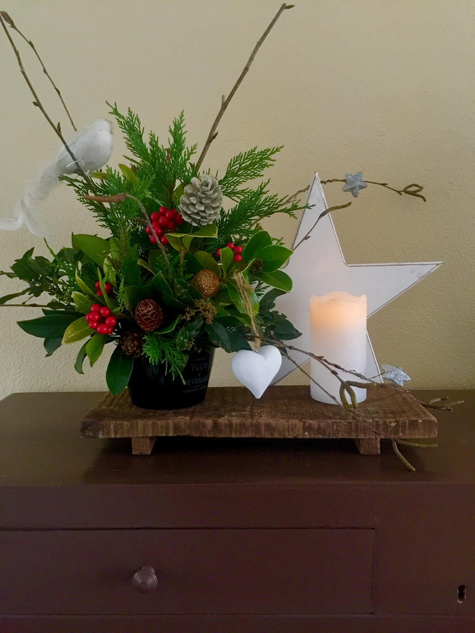Kerstplank. (Foto: aangeleverd)