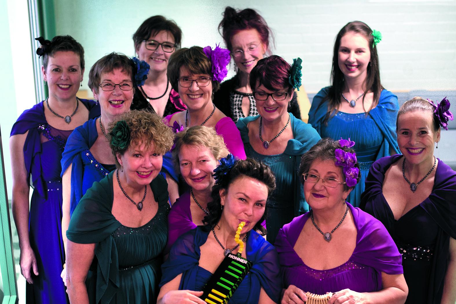 Russisch Vocaal Dames Ensemble Soedarynja. (Foto: aangeleverd)