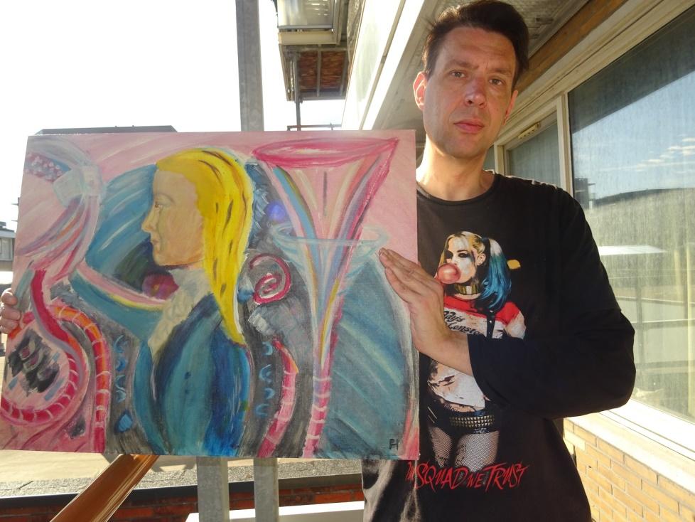 Peter Hulscher exposeert in De Groene Ezel