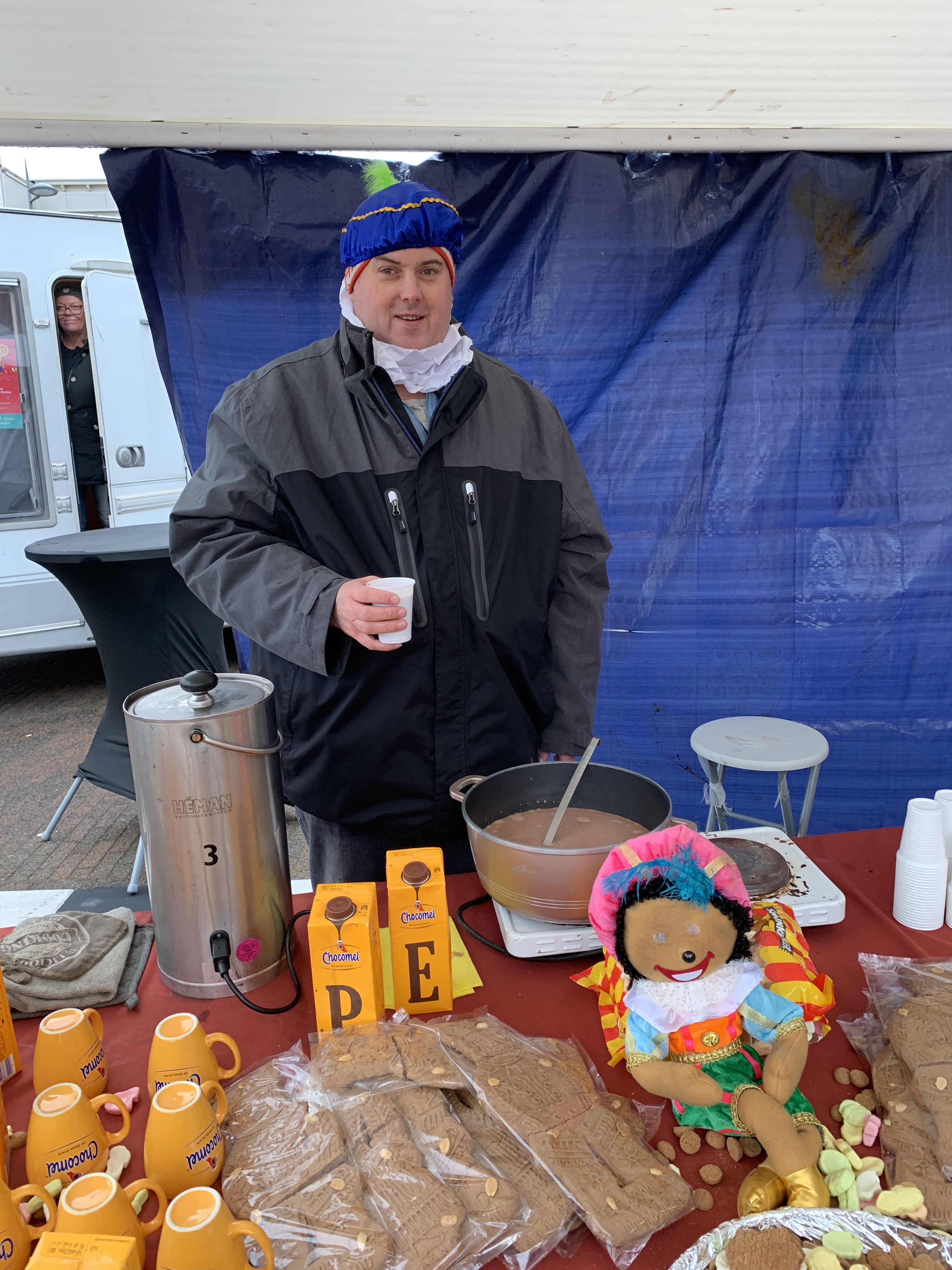 Met Sinterklaas op de foto. (Foto: YvdD) rodi.nl © rodi