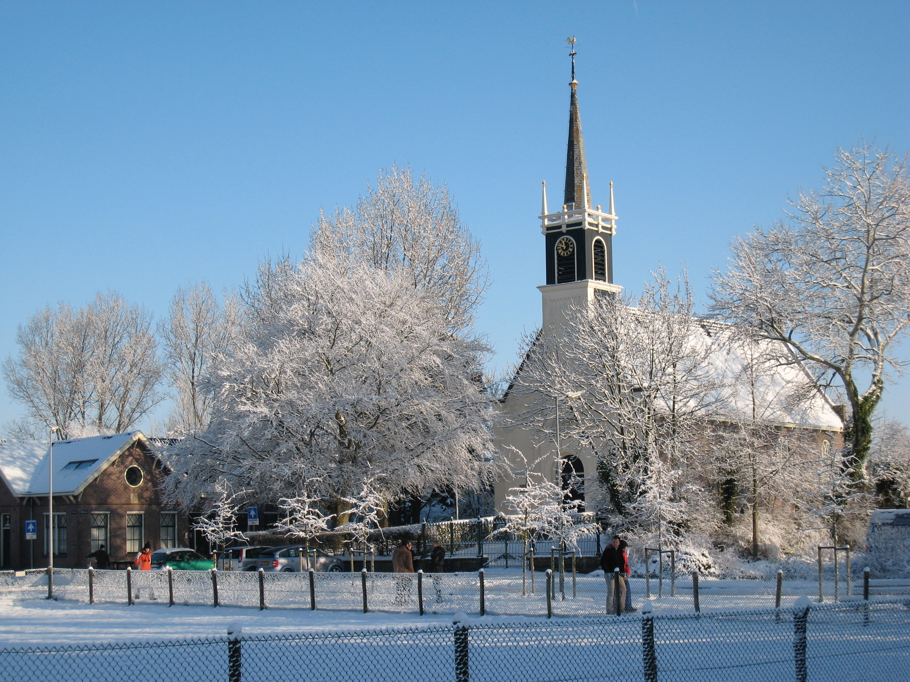 Kerstzangdienst in De Terp. (Foto: aangeleverd)