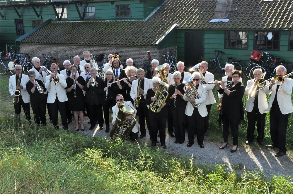 Dagorkest Zaanstreek Waterland. (Foto: DZW)