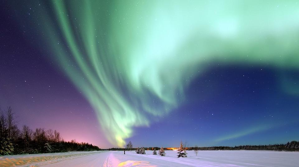 Sanne's laatste wens, het noorderlicht zien, gaat in vervulling. ( Foto: Pixabay)