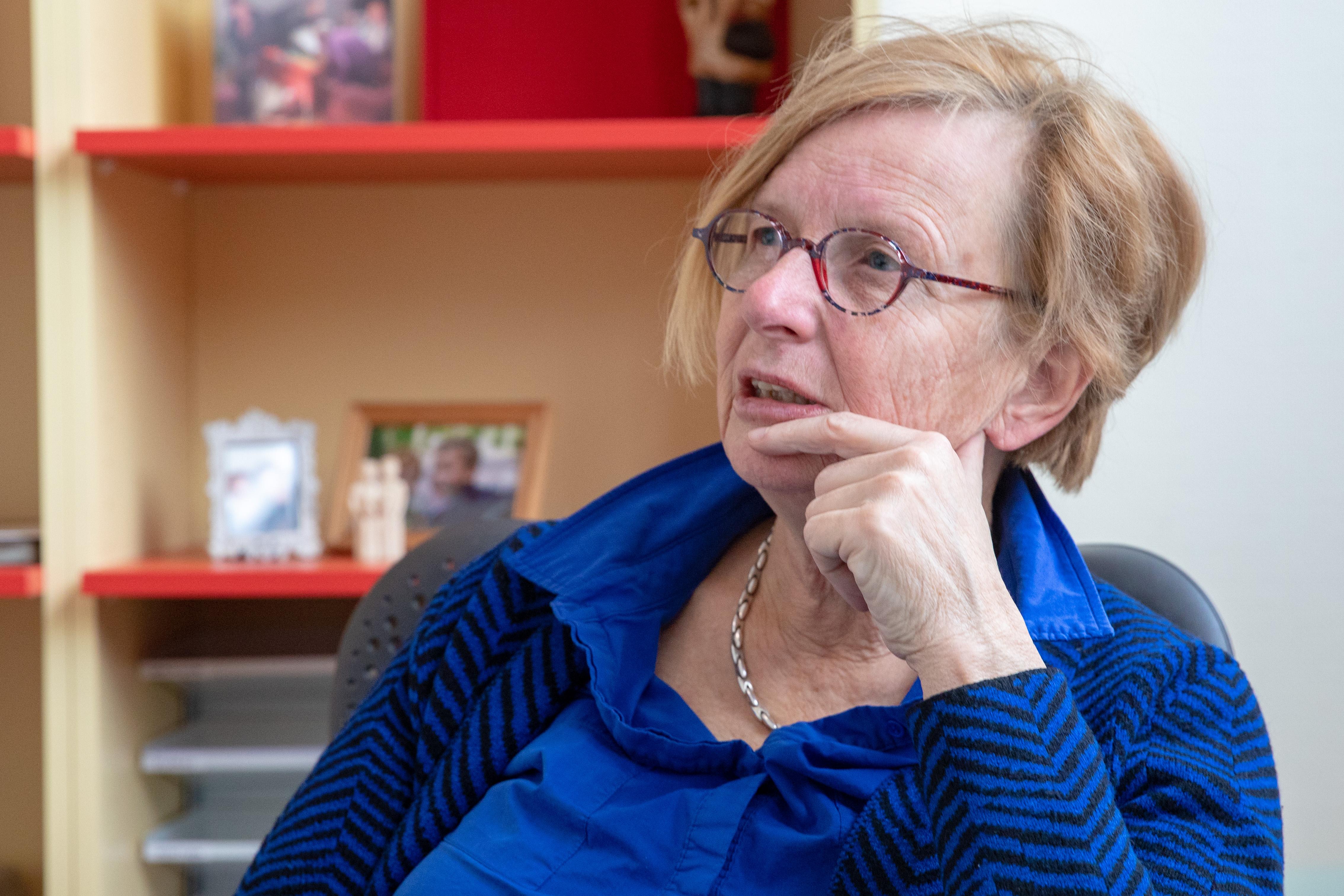 Dokter Witteveen neemt na dertig jaar lief en leed afscheid van haar patiënten. (Tekst: Marsha Bakker / Foto: Vincent de Vries/ RM) rodi.nl © rodi