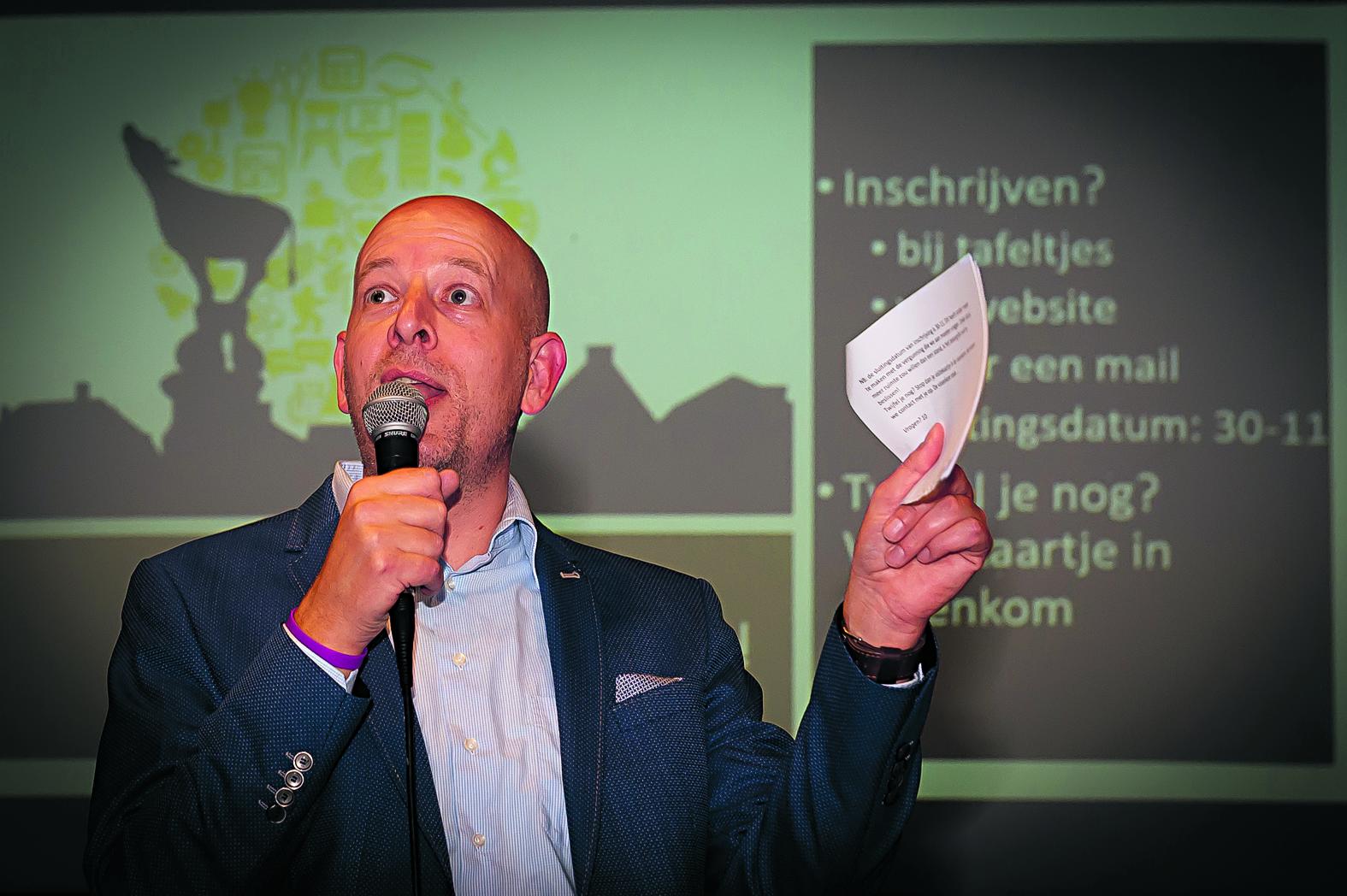 """Thierry van der Weide: """"Het mooie is dat nu iedereen zoiets heeft van we moeten erbij zijn."""" (Foto: Han Giskes)  rodi.nl © rodi"""
