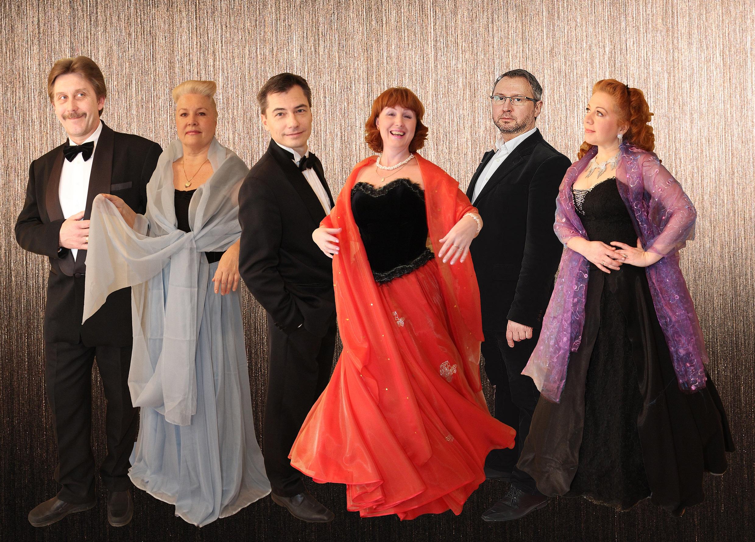 Het Neva-ensemble. (Foto: aangeleverd)
