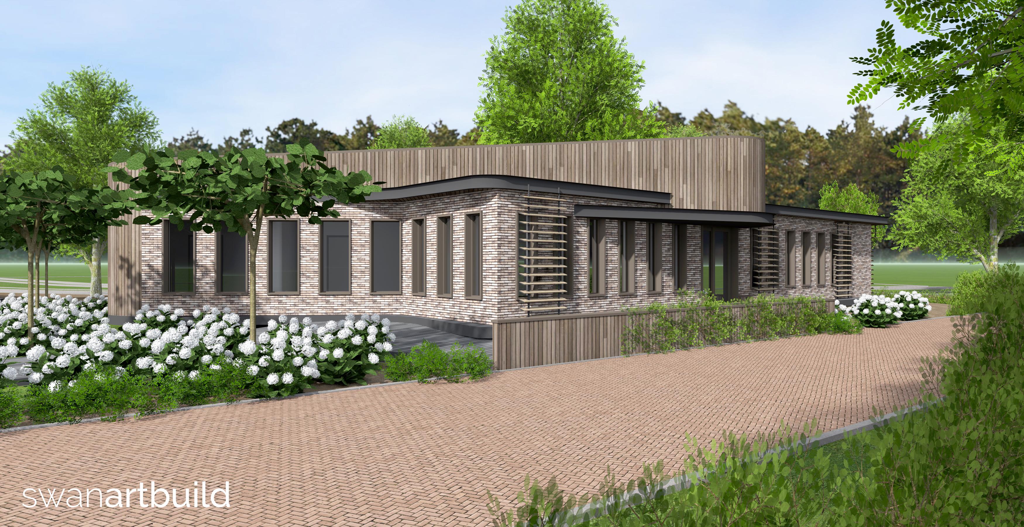 Op de plek van de vroegere speeltuin in Egmond aan Zee wordt in 2019 begonnen met de bouw van een hospice. (Foto: aangeleverd)