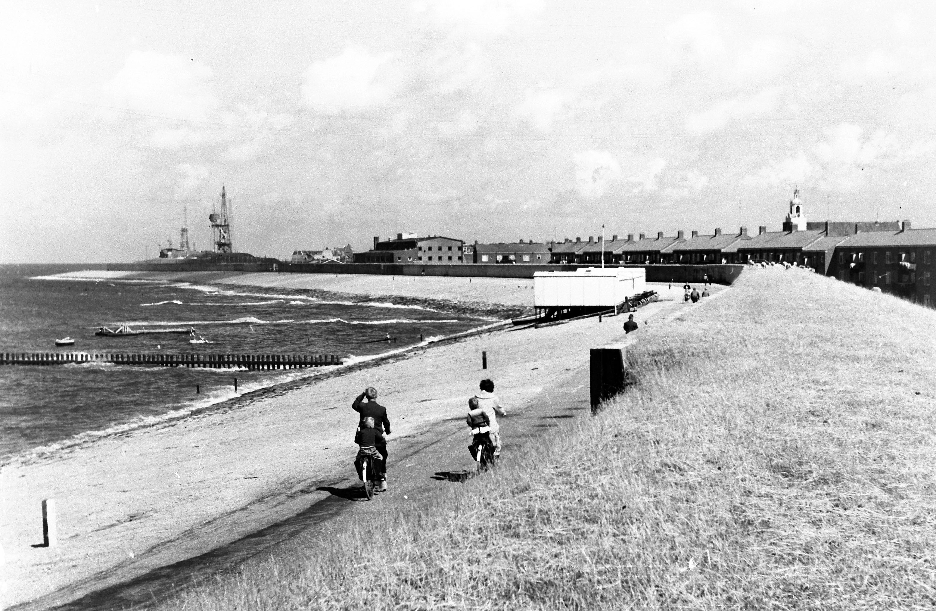 De Helderse zeedijk. (Foto: aangeleverd)