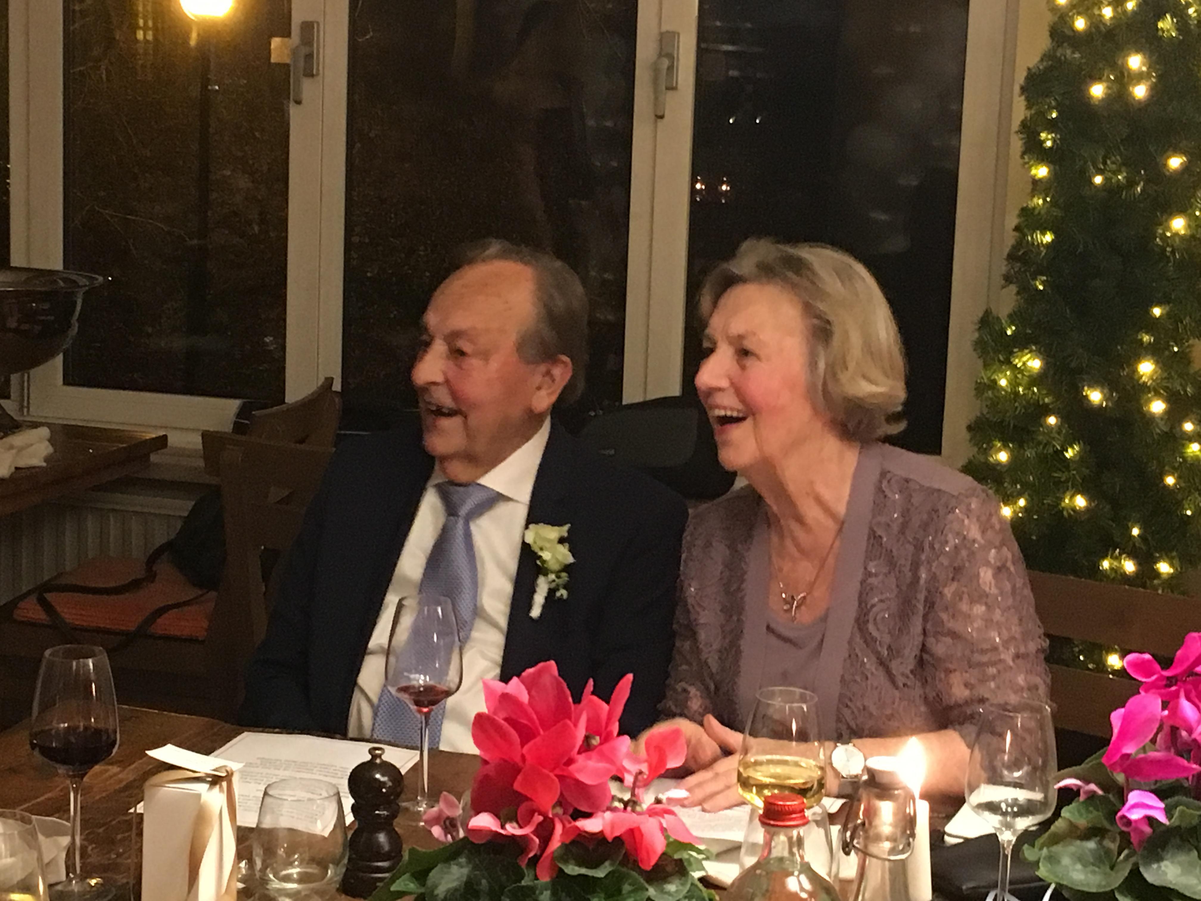 Hans en Marianne de Bruin - Meijer genieten al 60 jaar volop van elkaar en van het leven. (Foto: Daphne Cieraad-de Bruin )
