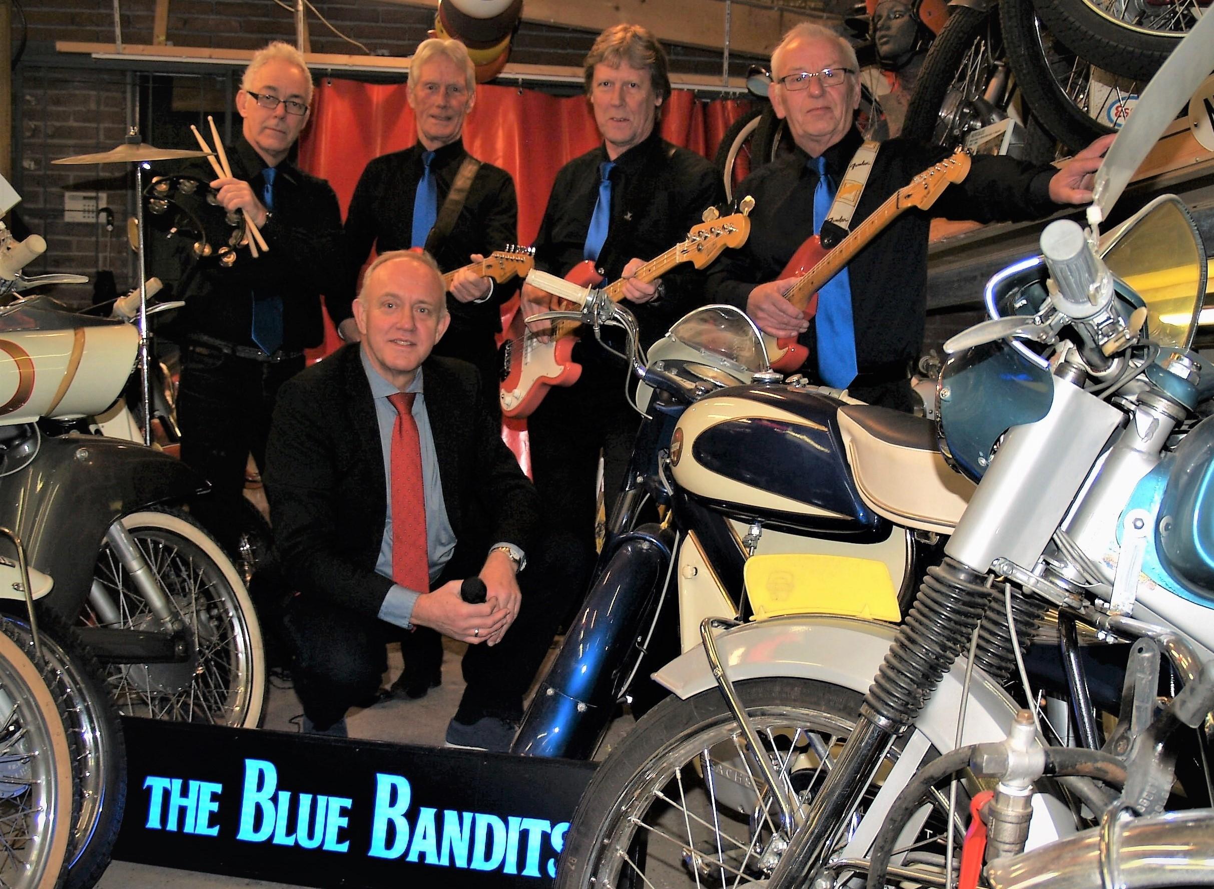 The Blue Bandits spelen nummers uit de sixties. (Foto: aangeleverd)