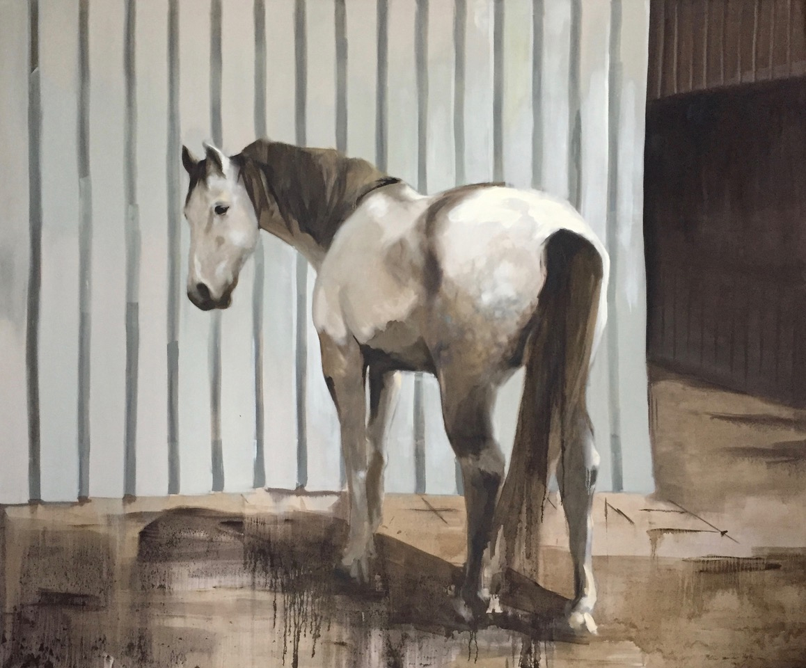 'Wit paard' van Philine van der Vegte. (Afbeelding aangeleverd)