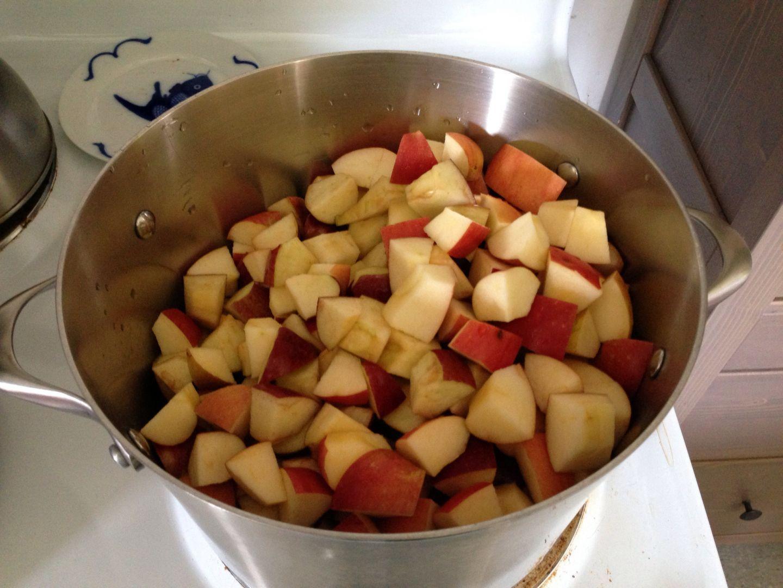Kinderen kunnen bij MAK Blokweer zelf een appelflap maken. (Foto: aangeleverd)