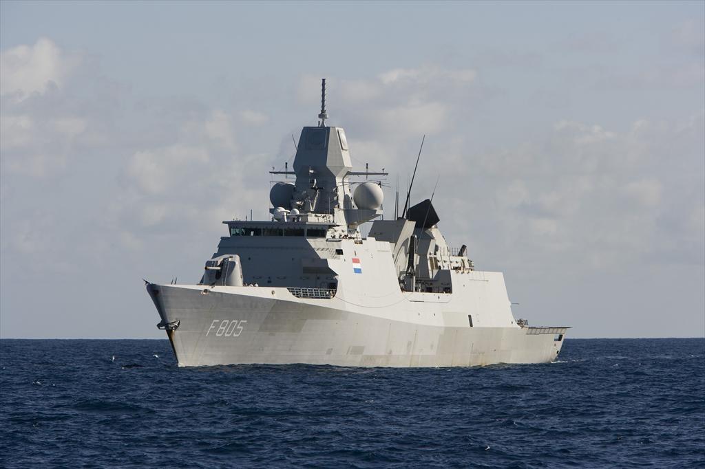 Zr. Ms. Evertsen. (Foto: Koninklijke Marine)