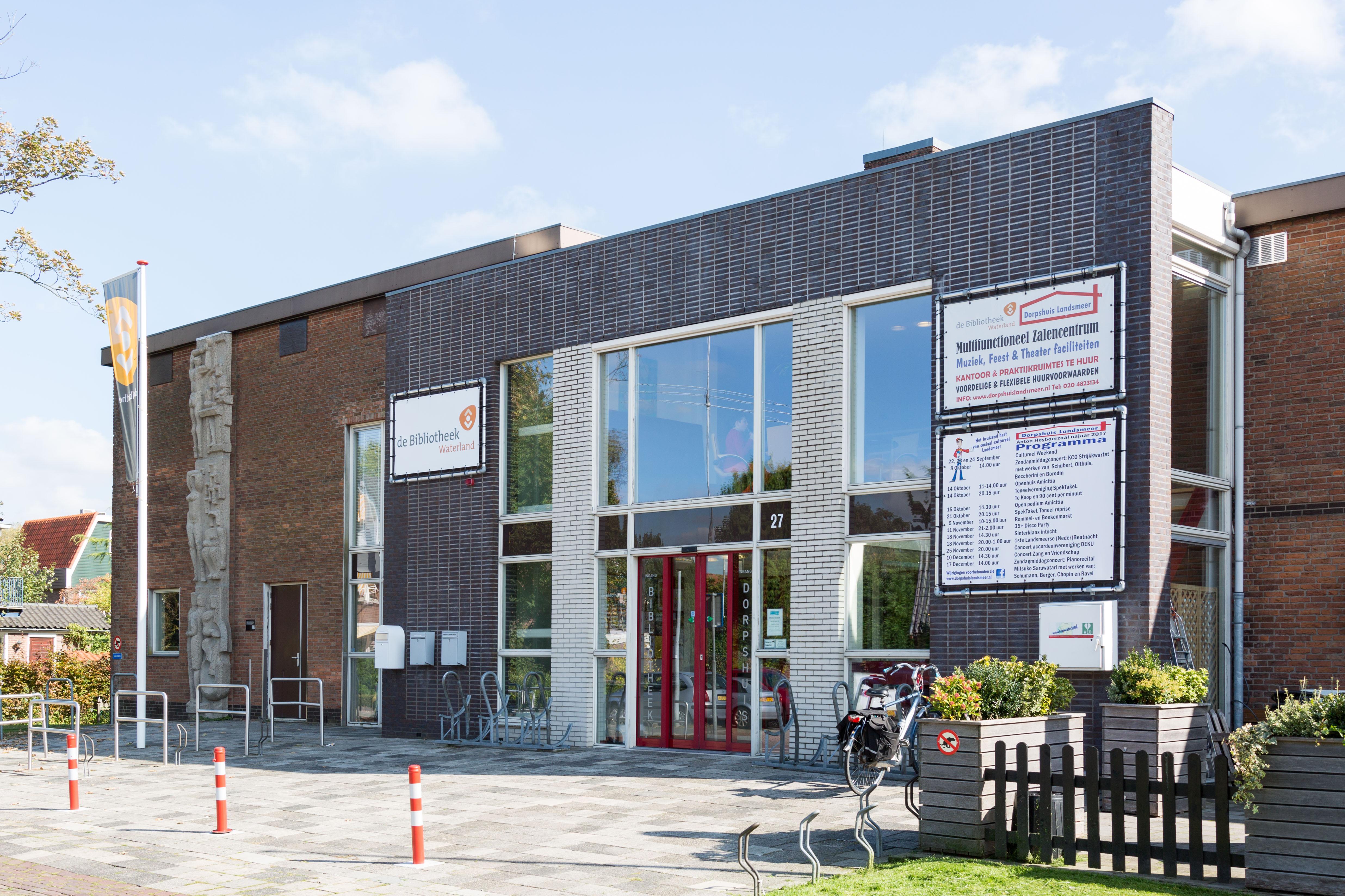 De Bibliotheek Landsmeer. (Foto: aangeleverd)
