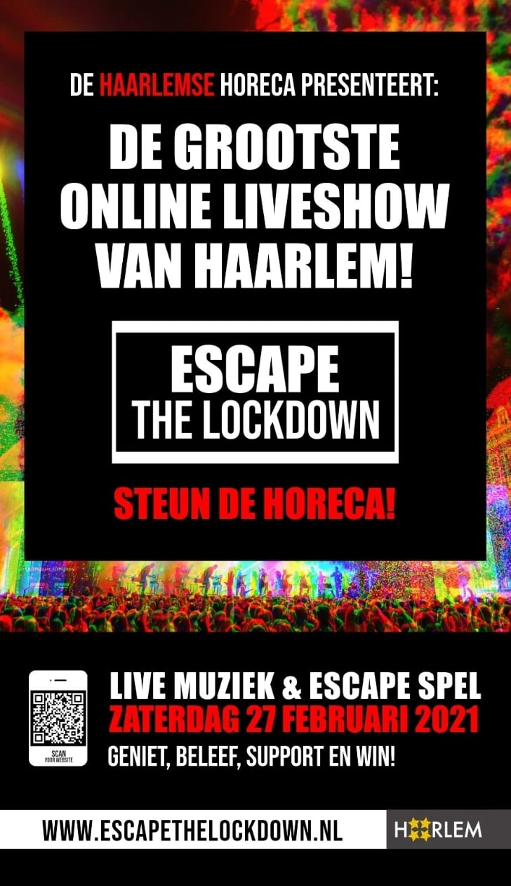escape the lockdown haarlem