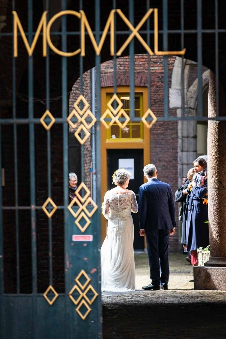 burgemeester wienen getrouwd