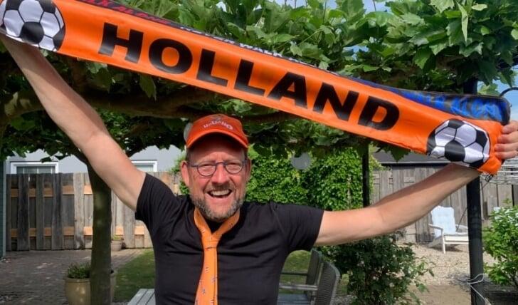 ek gevoel oranje supporter
