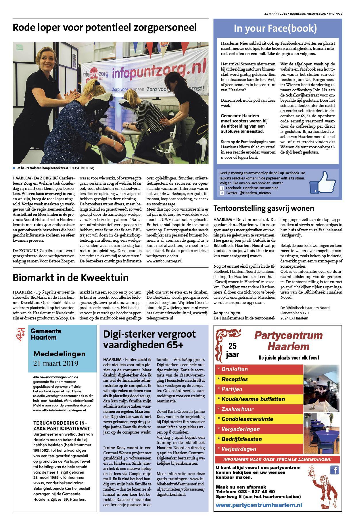 ed0d437e014dfc Haarlems Nieuwsblad 21 maart 2019