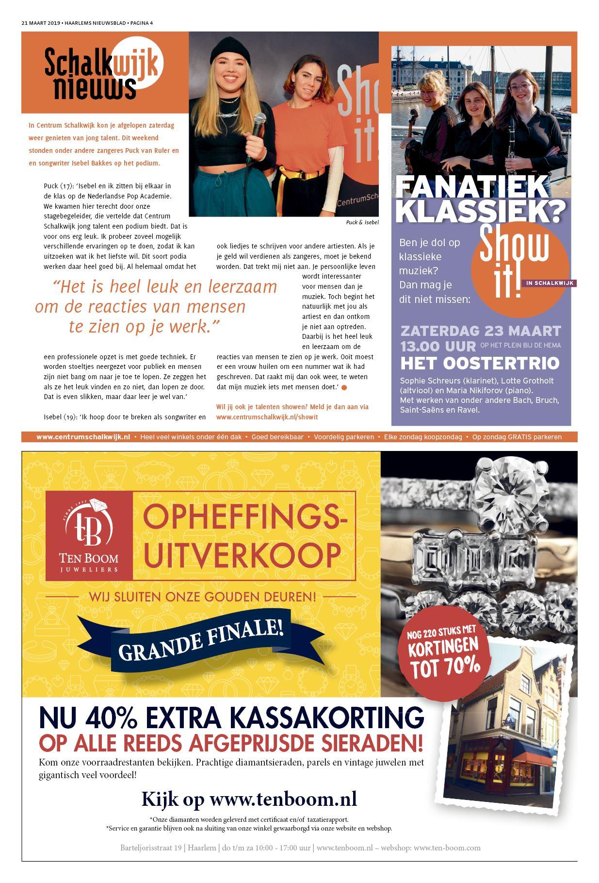 c3de3b67fa1ef1 Haarlems Nieuwsblad 21 maart 2019