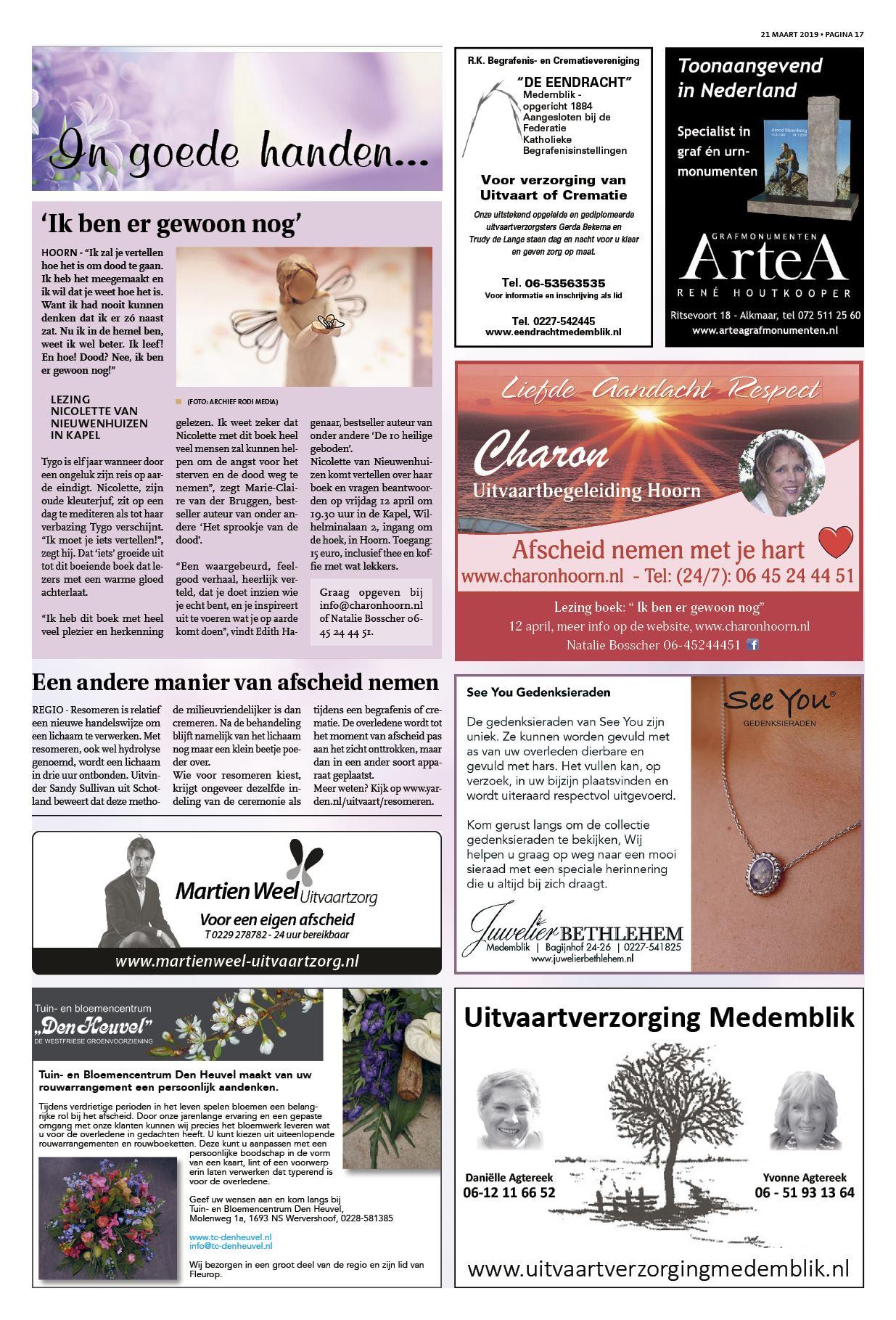 b7774ae87da De Medemblikker Courant 21 maart 2019