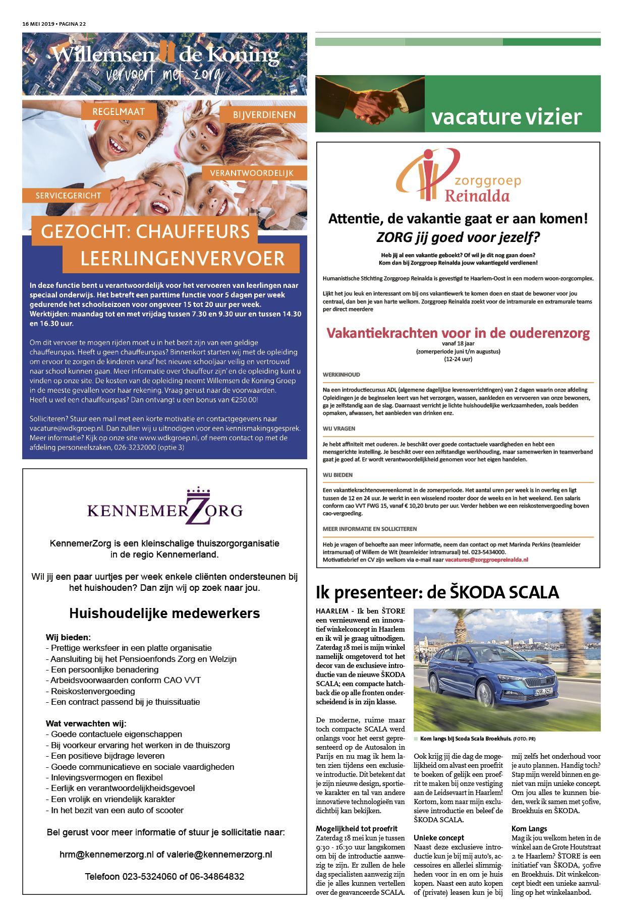 89df83bd95e1ca Haarlems Nieuwsblad 16 mei 2019