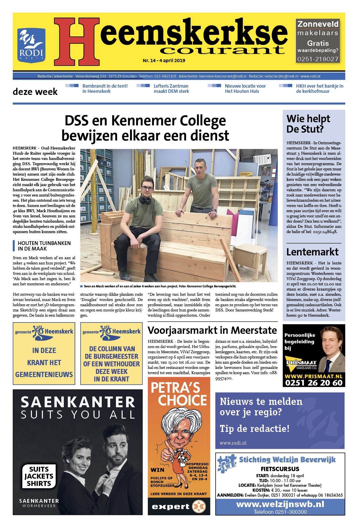 0186fa574cbe79 Heemskerkse Courant 4 april 2019