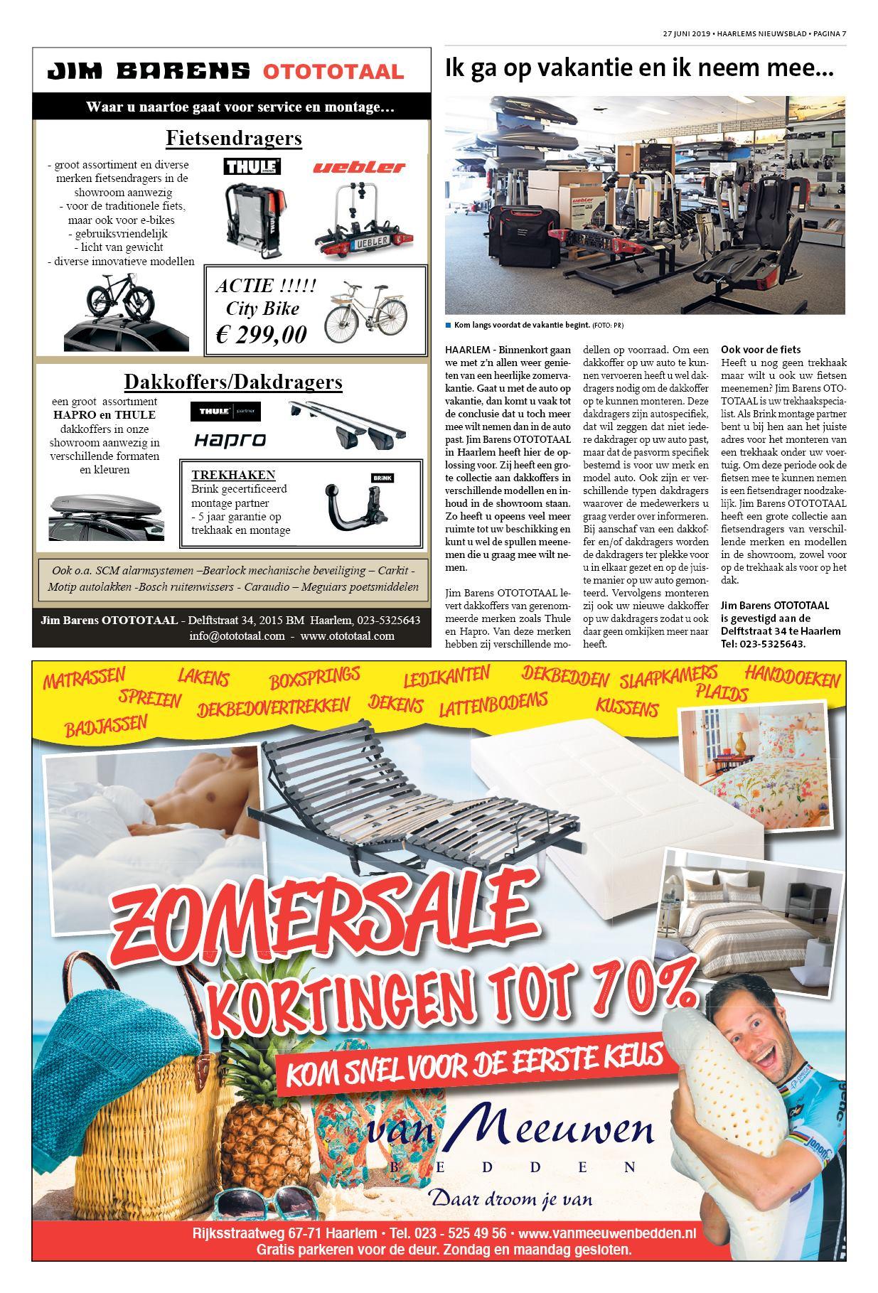 16faba2c12f Haarlems Nieuwsblad 27 juni 2019