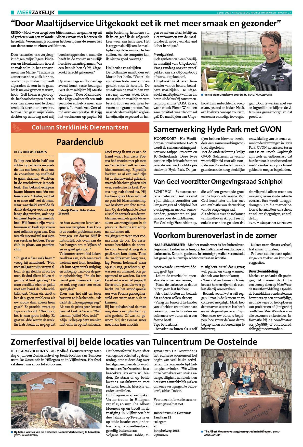 31df9695cc07b9 Nieuwsblad Haarlemmermeer 3 juli 2019