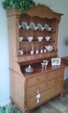 Prachtige Oud Grenen Side Table Evt Met Bijhorende Kast
