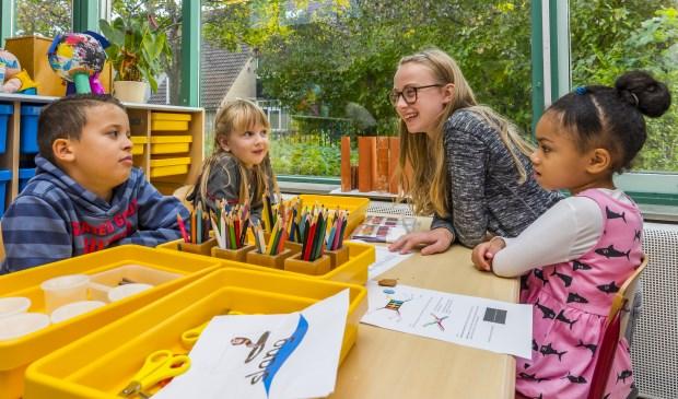Samen een Verhalenmachine bouwen op de Toermalijn. Foto: Foto-OK.nl
