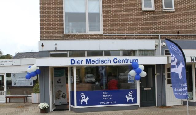 De tweede locatie van het Dier Medisch Centrum aan de Raadhuislaan in Rockanje (Foto: Wil van Balen)