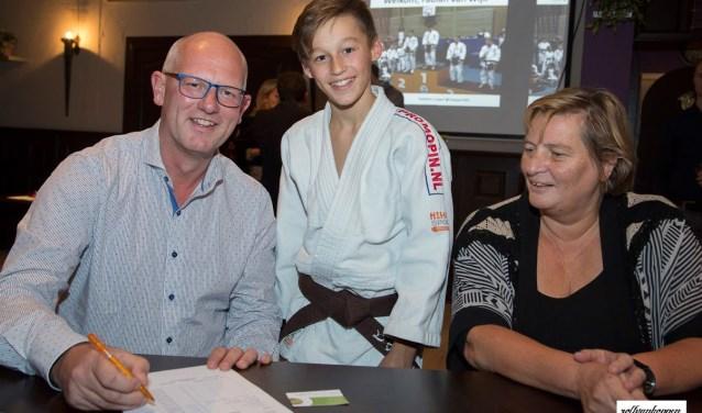 Judotalent Fabian van Wijk gaat naar Japan dankzij een geweldige pitch! (Foto: PR)