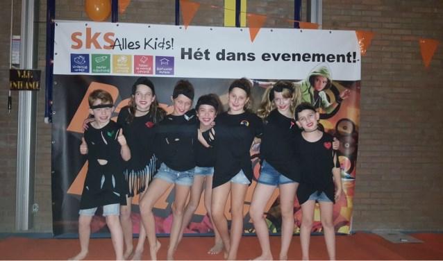 De winnaars van de Dance Battle. Foto: SKS.
