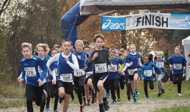 De jeugdlopen zijn voor alle deelnemers gratis