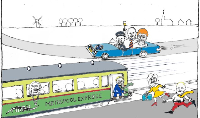 De cartoon over de Metropoolregio