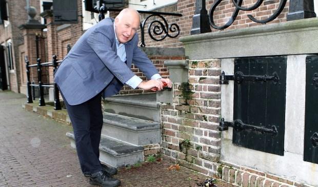 Wethouder Hans van Lith probeerde het systeem al uit..