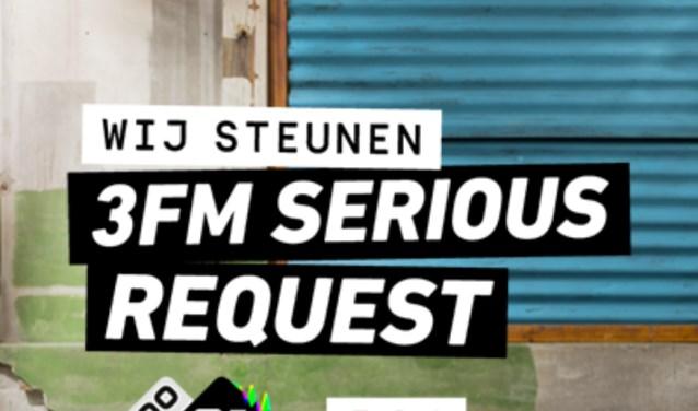 Met deze actie hoopt de regionale omroep van Voorne-Putten, LINQ Media, zoveel mogelijk geld op te halen voor 3FM Serious Request