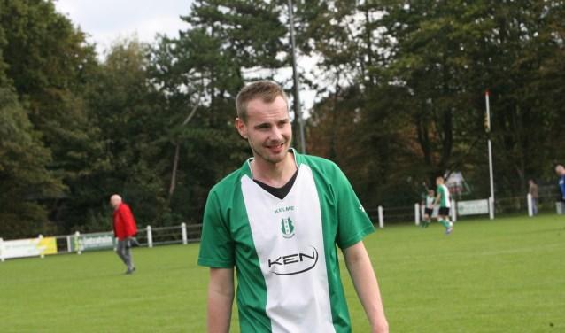 Stony van den Berg scoorde drie keer voor OVV In de topper met koploper BZCZuiderpark. * Archieffoto: Wil van Balen.