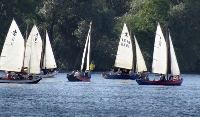 Waterscouting spektakel op het Brielse Meer.