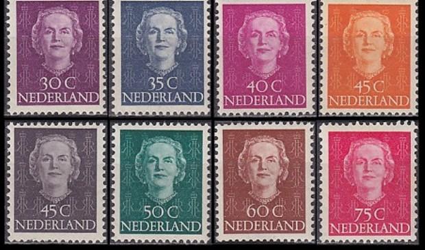 Tot 1948 sierde het gezicht van Koningin Wilhelmina onze postzegels. In 1949 kwamen de eerste Juliana zegels uit. In dat jaar werden er geen munten geslagen, pas weer in 1950
