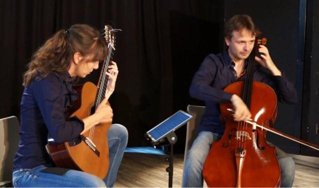 Het concert op 22 februari is van het Belgische duo: Duo Edenwood.
