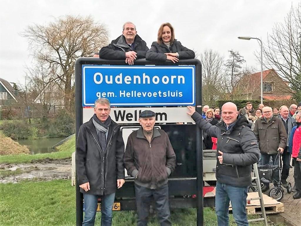De nieuwe naam is officieel.. foto Tjerk Hazeveld © GrootHellevoet.nl