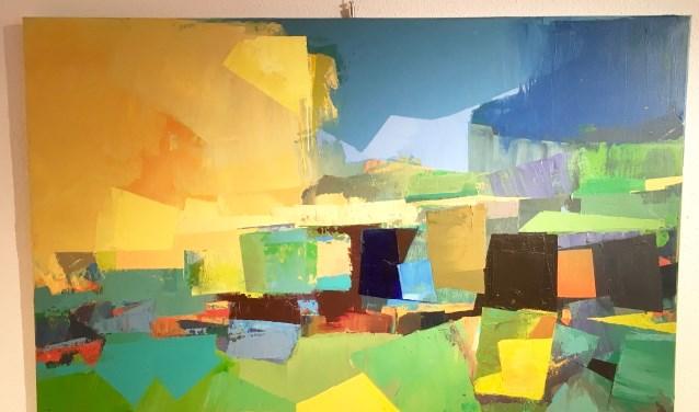 Van een groot aantal van de bij de KunstPlus aangesloten kunstenaars is er een werk te zien tijdens deze expositie.